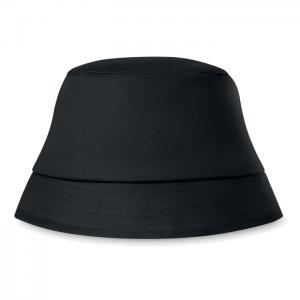 Kapelusz plażowy 160 gr/m² czarny