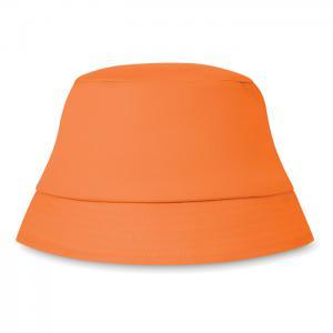 Kapelusz plażowy 160 gr/m² pomarańczowy