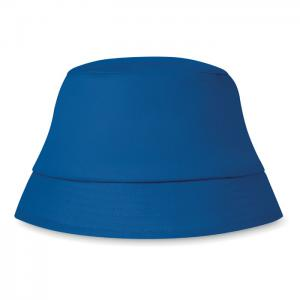 Kapelusz plażowy 160 gr/m² niebieski