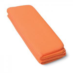 Składana mata do siedzenia pomarańczowy