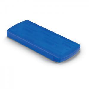 Plastry w pudełku przezroczysty niebieski