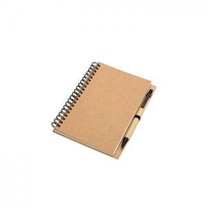 Notes z długopisem beżowy