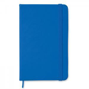 Notatnik A6 w linie niebieski