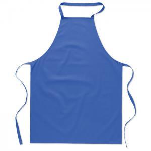 Bawełniany fartuch kuchenny niebieski