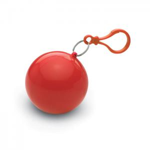 Ponczo przeciwdeszczowe czerwony