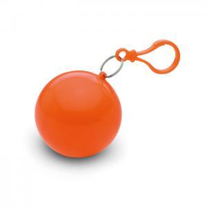 Ponczo przeciwdeszczowe pomarańczowy