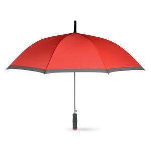 Parasol z rączką EVA czerwony
