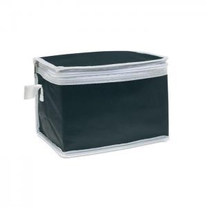 Torba chłodząca na 6 puszek czarny