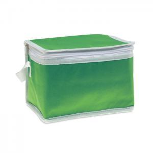 Torba chłodząca na 6 puszek zielony