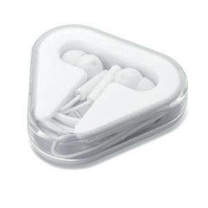 Słuchawki w pudełku. biały