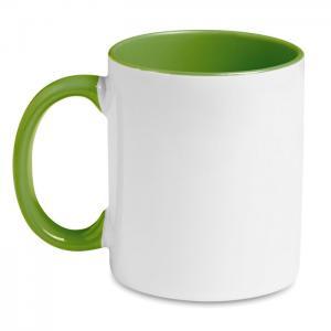 Kolorowy kubek przystosowany d zielony