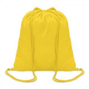 Worek bawełniany żółty