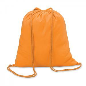 Worek bawełniany pomarańczowy