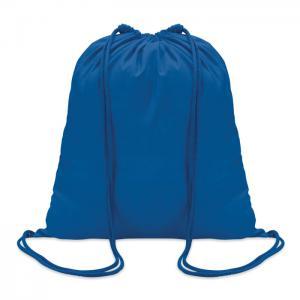 Worek bawełniany niebieski