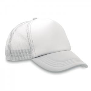 Czapka -bejsbolówka biały