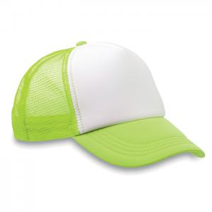 Czapka -bejsbolówka fluorescencyjny zielony
