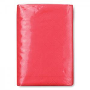 Mini chusteczki czerwony
