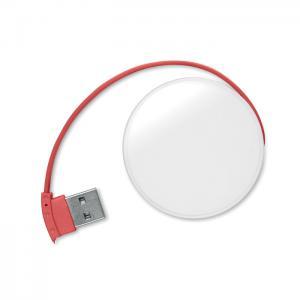 Rozdzielacz USB 4 porty czerwony