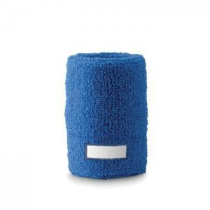 Opaska-frotka na nadgarstek niebieski