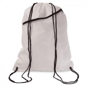 Duży worek zamykany na sznurki biały