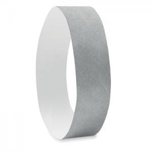 Opaska na rękę Tyvek® srebrny