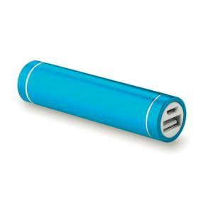 Powerbank w kształcie cylindra granatowy