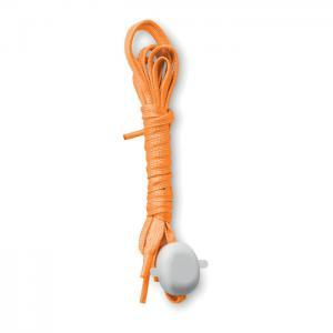 Świecące sznurówki pomarańczowy