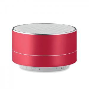Okrągły głośnik czerwony