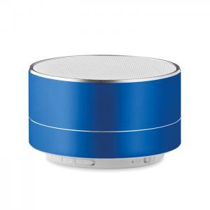 Okrągły głośnik niebieski
