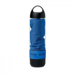 Butelka z głośnikiem niebieski