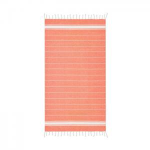 Ręcznik plażowy pomarańczowy