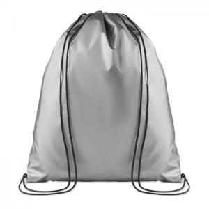 Worek plecak srebrny