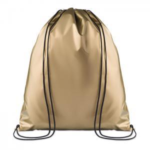 Worek plecak matowy złoty