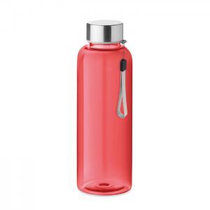 Butelka z tritanu 500ml przezroczysty czerwony