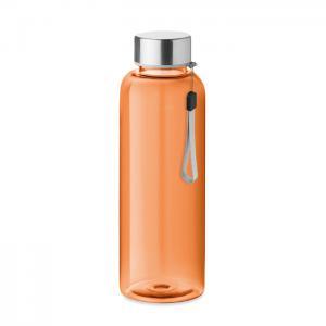 Butelka z tritanu 500ml przezroczysty pomarańczowy