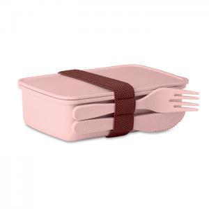 Pudełko na lunch różowy