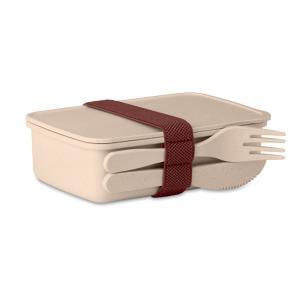 Pudełko na lunch beżowy