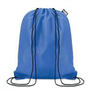 Worek ze sznurkiem RPET niebieski
