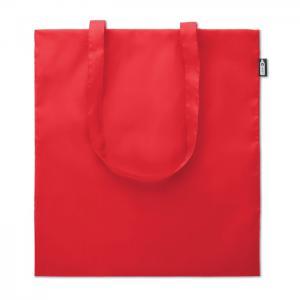 Torba na zakupy z RPET czerwony