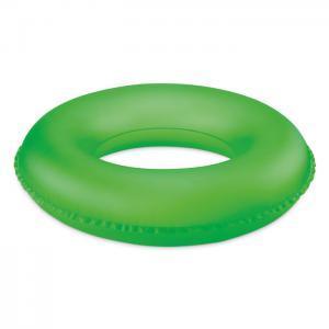 Koło dmuchane fluorescencyjny zielony