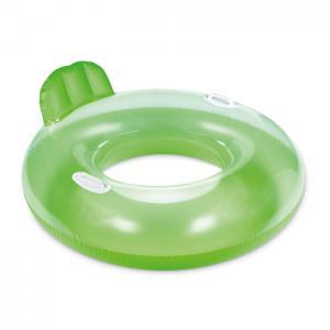 Dmuchany fotel fluorescencyjny zielony