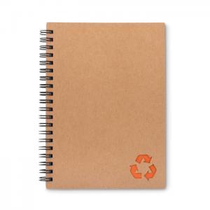 Notatnik ze spiralą pomarańczowy