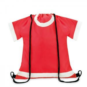 Plecak ze sznurkiem czerwony