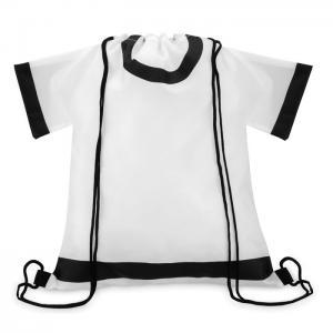 Plecak ze sznurkiem biały
