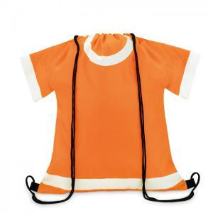 Plecak ze sznurkiem pomarańczowy