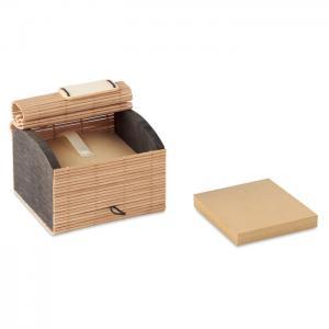 Zestaw 500 kartek z bambusa