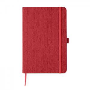 Notatnik A5 z PU czerwony