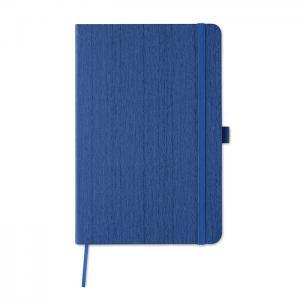 Notatnik A5 z PU niebieski