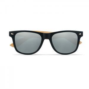 Okulary przeciwsłoneczne srebrny błyszczący
