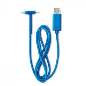 Kabel do ładowania niebieski